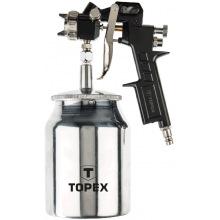 Пістолет-розпилювач Topex, нижній бачок 1.0 л, сопло 1.5 мм (75M206)