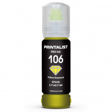 Чорнило PRINTALIST 106 Yellow для Epson 70г (PL106Y)