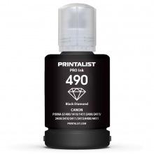 Чорнило PRINTALIST GI-490 Black для Canon 140г (C490BP) пігментні