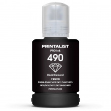 Чернила PRINTALIST GI-490 Black для Canon 140г (PL490BP) пигментные