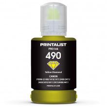 Чорнило PRINTALIST GI-490 Yellow для Canon 140г (PL490Y)