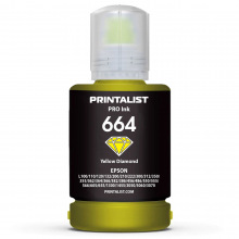 Чорнило PRINTALIST 664 Yellow для Epson 140г (PL664Y)