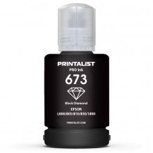Чорнило PRINTALIST 673 Black для Epson 140г (PL673B)