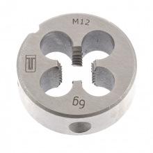 Плашка М12 х 1.75 мм,  СИБРТЕХ (MIRI77032)