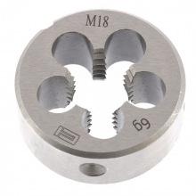 Плашка М18 х 2.5 мм,  СИБРТЕХ (MIRI77052)