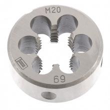 Плашка М20 х 2.5 мм,  СИБРТЕХ (MIRI77058)