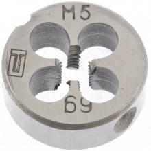 Плашка М5 х 0.8 мм,  СИБРТЕХ (MIRI77013)