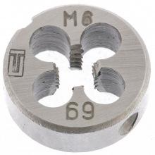 Плашка М6 х 1.0 мм,  СИБРТЕХ (MIRI77017)