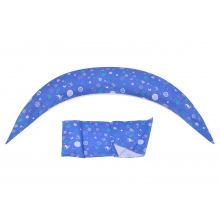 Подушка для вагітних і для годування Nuvita 10 в 1 DreamWizard Синя NV7100Blue (NV7100BLUE)