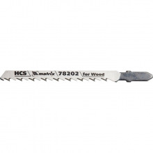 Полотна для електролобзика по дереву T101D, 75 х 4.0 мм, HCS, 3 шт,  MTX PROFESSIONAL (MIRI782029)