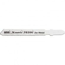 Полотна для електролобзика по металу T118G, 50 х 0.8 мм, HSS, 3 шт,  MTX PROFESSIONAL (MIRI782069)