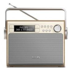 Портативный радиоприемник Philips AE5020 Wood FM/DAB+ LCD/подсвет. 3Вт (AE5020/12)