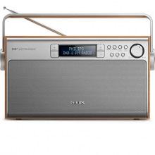 Портативный радиоприемник Philips AE5220 Wood FM/DAB+ LCD/подсвет. 5Вт (AE5220/12)