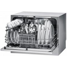 Посудомийна машина Candy окремо встановлювана CDCP 6/ES /А+/55см/6 компл./ 6 программ/конденс./LED iндикацiя/Срiблястий (CDCP6/E