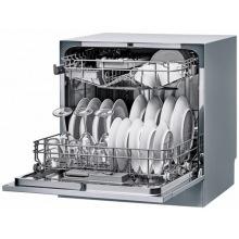 Посудомийна машина Candy CDCP 8/ES /А+/55см/8 компл./6 программ/конденсацiйний/Дисплей/Срiблястий (CDCP8/ES-07)