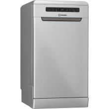 Посудомийна машина Indesit DSFO 3T224 Z А++/45 см/10 компл./дисплей/срібло (DSFO3T224Z)