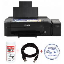Принтер A4 Epson L132 + кабель USB + салфетки (L132-Promo) Фабрика печати
