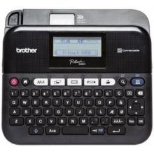 Принтер Brother для печати наклеек P-Touch PT-D450VP в кейсе (PTD450VPR1)