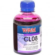 Промывочная жидкость (Очищающая) для Картриджей) WWM для водорастворимых чернил Epson 200г (CL08)