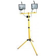 Прожектор (Светильник) галогенный  2х500 Вт, со стойкой 1.8 м (94W038)