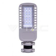 Прожектор уличный консольний LED V-TAC, SKU-956, Samsung CHIP, 30W, 230V, 4000К, серый (3800157649551)