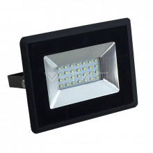 Прожектор уличный LED V-TAC, SKU-5946, E-series, 20W, 230V, 3000К, черный (3800157625395)