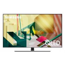 """Телевiзор 55"""" QLED 4K Samsung QE55Q77TAUXUA Smart, Tizen, Black (QE55Q77TAUXUA)"""