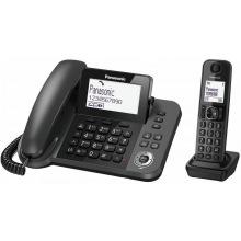 Радиотелефон DECT Panasonic KX-TGF320UCM Black (KX-TGF320UCM)