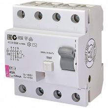 Реле дифференциальное ETI (УЗО) EFI-4 40/0,1 тип AC (10kA (2063143)