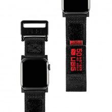 Ремінець UAG для Apple Watch 40/38 Active Strap, Black (19149A114040)