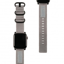Ремінець UAG для Apple Watch 44/42 Nato Strap, Grey (19148C114030)