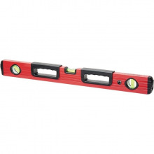 Рівень фрезерований алюмінієвий 1500 мм, 3 вічка, 2 ергономічні ручки,  MTX (MIRI332319)