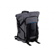"""Рюкзак ACER PREDATOR GAMING ROLLTOP BACKPACK FOR 15"""" NBS GRAY N TEAL BLUE (RETAIL PACK) (NP.BAG1A.290)"""