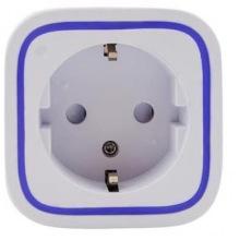 Умная розетка Aeotec Smart Dimmer 6, Z-Wave, диммер до 575W + USB з/у 5V 1A, белая (ZW099)