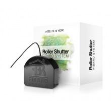 Умное релле Fibaro Roller Shutter 3, Z-Wave, 230V, макс. 4.2A (лампы), 1.7А (мотори), 400Вт, черный (FGR-223)