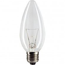 Лампа накаливания Philips E27 40W 230V B35 CL 1CT/10X10F Stan (921492044218)