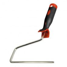 Ручка для валиків 250 мм, D 8 мм, нікельована двокомпонентна,  MTX (MIRI812229)
