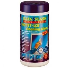 Серветки Data Flash чистячі антистатичні 100шт 1513 (TFT/PDA/LCD) (DF1513)