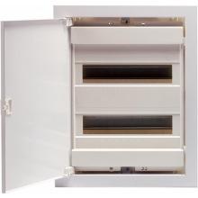 Щит металлопластиковый ETI ECG28 (внутренний, 2х12+4мод, дверь белая, IP40) (1101026)