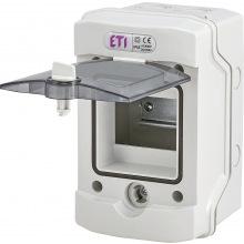 Щит пластиковый  ETI ECH-4Gu (4 модуля наружный IP65) (1101170)