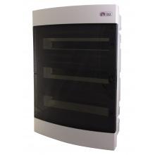 Щит пластиковый ETI ECM 54PT (внутренний, 3х18мод, дверь прозр, IP40) (1101047)