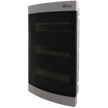 Щит пластиковый ETI ECM 36PT (внутренний, 3х12мод, дверь прозр, IP40) (1101013)