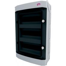 Щит пластиковый ETI ECH 36PT (наружный 3х12мод, дверь прозр, IP65) (1101064)