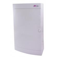 Щит пластиковый ETI ECT 36PO (наружный 3х12мод, дверь белая, IP40) (1101009)
