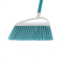 """Щітка пластмасова """"LUX"""" для підмітання підлоги 230 мм, бірюзова щетина, з держаком, 120 см, D22 мм,  Elfe (MIRI93559)"""