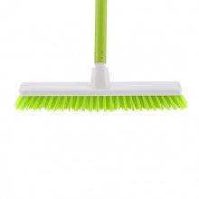"""Щітка пластмасова """"SHROBER"""" для чищення килимів 270 мм, салатова щетина, з держаком, 120 см, D22 мм,  Elfe (MIRI93551)"""