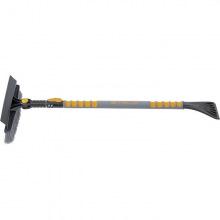 Щетка-сметка Stels для снега со скребком телескопічна 900 - 1300 мм,  Stels (MIRI55301)