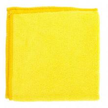 Серветки універсальні з мікрофібри жовті 300х300 мм,  Elfe (MIRI92303)