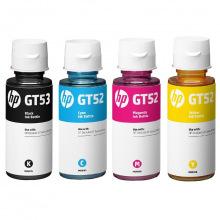 Набор оригинальных чернил HP GT52/53 B/C/M/Y 135мл Black по 70мл C/M/Y (SET52HP)