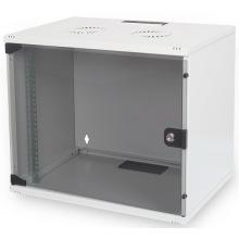 """Шкаф DIGITUS 19"""" 7U 540x400, стекл.дверь, 60kg max, серый (DN-1907U-S-1)"""